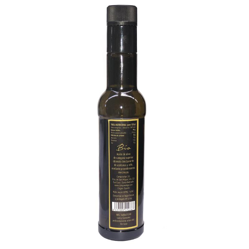 Aceite 250 ECO ibiza reverso