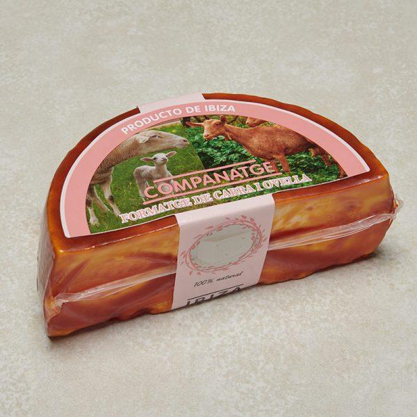 queso cabra oveja pimenton envase