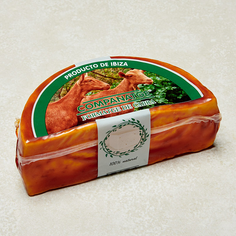queso cabra pimenton envase