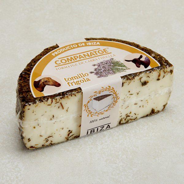 queso tomillo envase