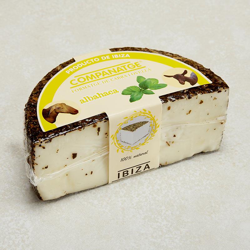 queso albahaca